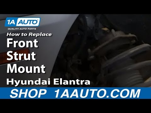 How To Replace Front Strut Mount or Spring 2001-06 Hyundai Elantra