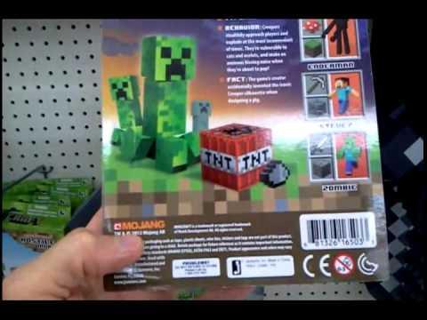 Minecraft Toys: Plush Creeper, Enderman, Foam Sword, Hostile Mobs