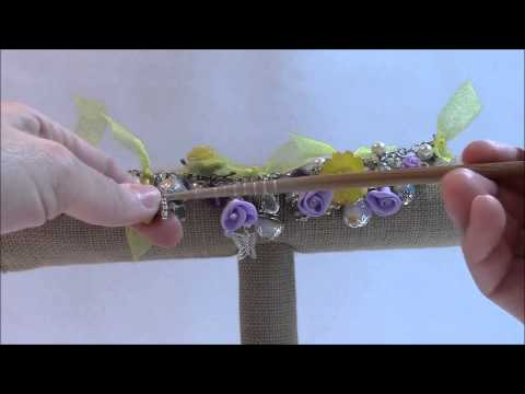 Spring Chunky Charm Bracelet