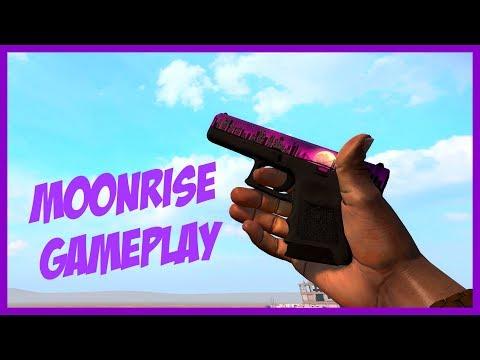 CS:GO / Glock-18 | Moonrise Pistol Gameplay / 1080p60