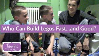 2 Min. Lego Challenges | Jendi