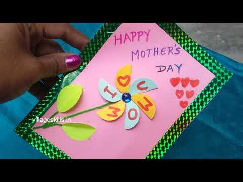 2 DIY easy Mother's day special greeting cards making ideas,hand made greeting cards making ideas,