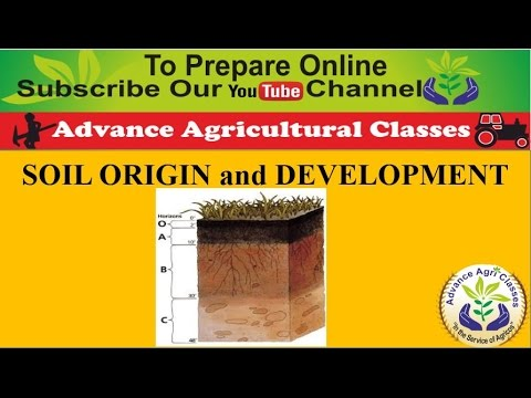 SOIL ORIGIN and DEVELOPMENT part - 2 (Hindi/English) Agricultural Field Officer IBPS