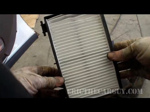 1999 RL Cabin Air Filter Replacement -EricTheCarGuy