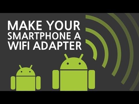 Using An Android Phone As A Wifi Adapter