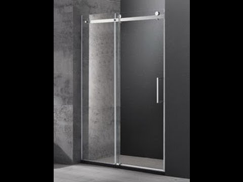 Buy wall to wall Frameless Sliding Shower Screen in melbourne [1200 up to 1800 mm]