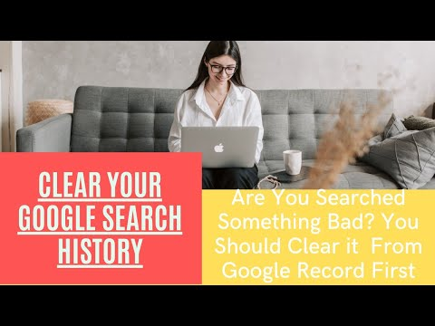 How To Clear All Google Search Activity Log Permanently Youtube 2016