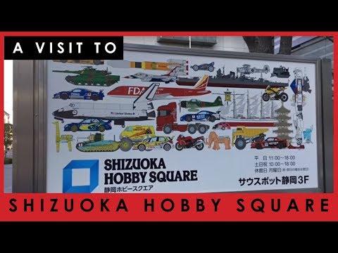 Visit To Shizuoka Hobby Square In Japan