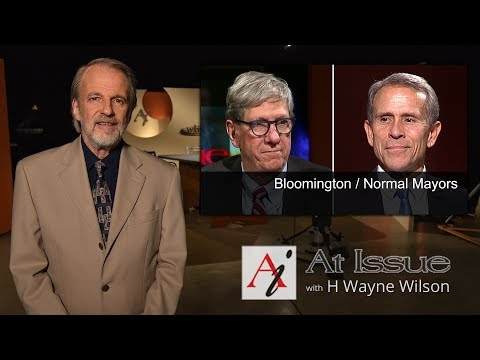 At Issue #3009 - Bloomington / Normal Mayors