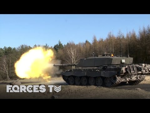 The Elite Team That Leads Tanks To War | Forces TV