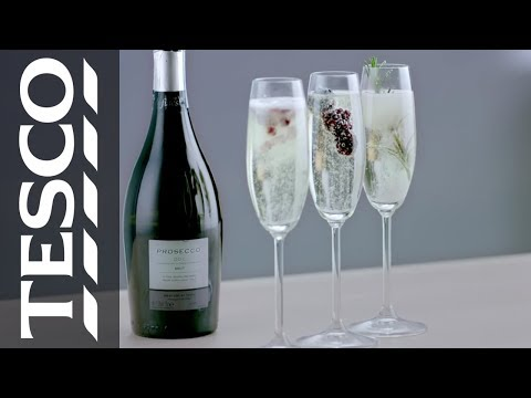 Ideas for Valentine's Day: How to perfect your Prosecco | Tesco