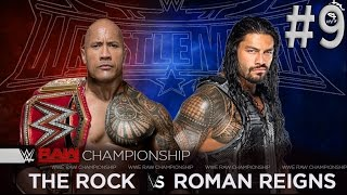The Rock vs Roman Reigns | Wrestlemania 32