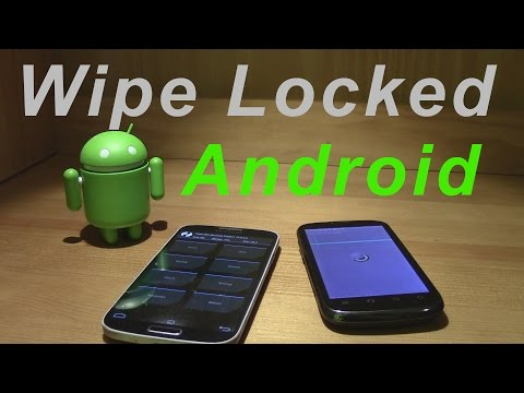 How to Hard Factory Reset Locked Android Smartphone Wipe PIN Pattern Password Fingerprint