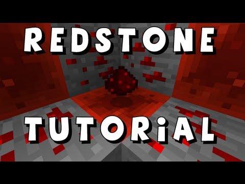 Minecraft Redstone Dust/Wire Tutorial