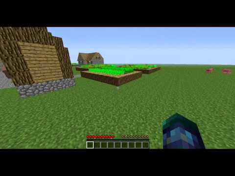 Minecraft Tutorial: How to get carrots and potatoes *UPDATED*