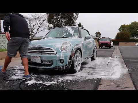 Mini Cooper [maxeen] Quick Maintenance Wash and Iron Removal