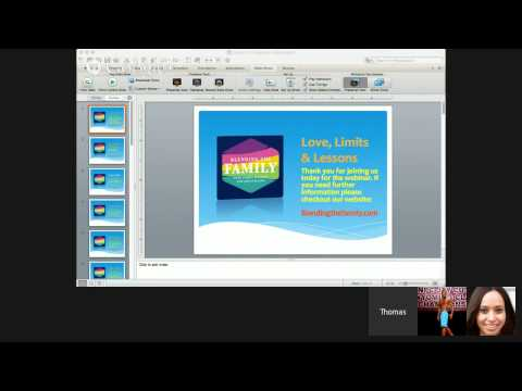 Love LImits And Lessons Webinar