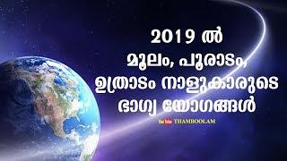2019 Pooradam nakshatra phalam പൂരാടം 2019 -ൽ Videos