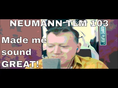 The Neumann TLM 103 MIC made me, a NON-singer, sing GREAT!
