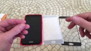 Orzly OnePlus 5 Tempered Glass Screen Protector Unboxing and Review With Case Compatibility