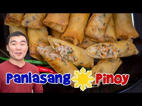 Fish Lumpia (Filipino Fish Egg Rolls)