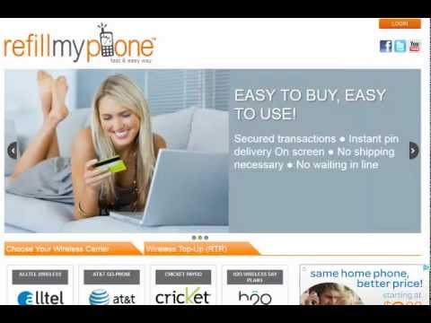 Airtime Minutes, Refill Phone, Mobile Recharge Tracfone, Page Plus, NET10, Verizon, T-mobile