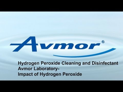 Hydrogen Peroxide Cleaning and Disinfectant | Avmor Laboratory- Impact of Hydrogen Peroxide