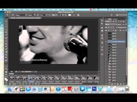 How to make gifs on Adobe Photoshop CS5 and CS6