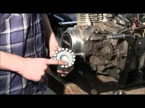 Old Go Cart Gets an Upgrade -- Motorcycle Engine