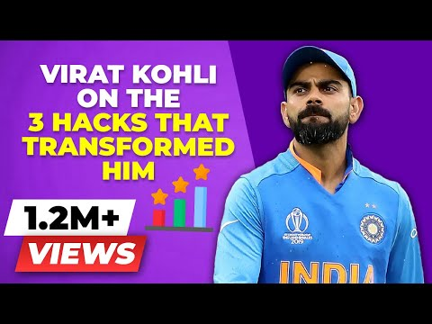 3 PRACTICAL Mental Tricks That Virat Kohli Used to TRANSFORM himself - Laziness Motivation