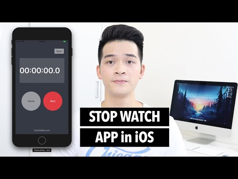 How to Build an iOS App with Swift - Stop Watch