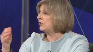 Theresa May questioned on her gay rights views, Question Time, 20 May 2010