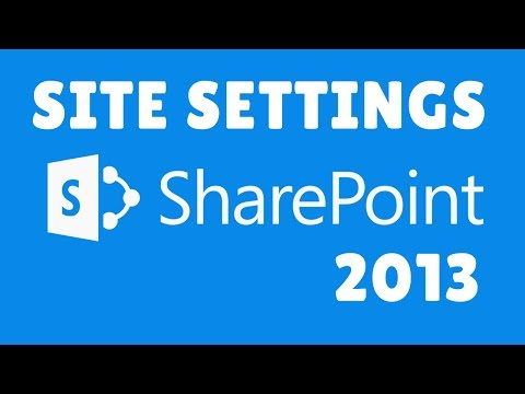 Site Settings in Sharepoint 2013 | Sharepoint Tutorials