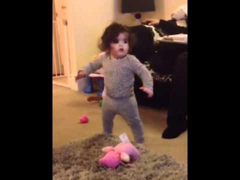 Baby Beyonce Single Ladies Dance