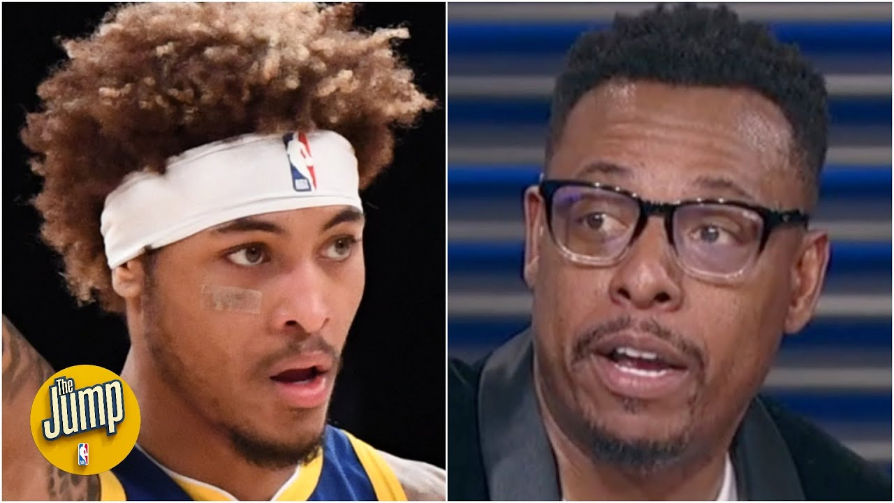 If Kelly Oubre Jr. consistently knocks down 3s the Warriors will be 'scary' - Paul Pierce | The Jump