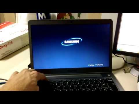 Problem with reinstalling Windows 7, 8 or 10 on Samsung Series 5 notebook