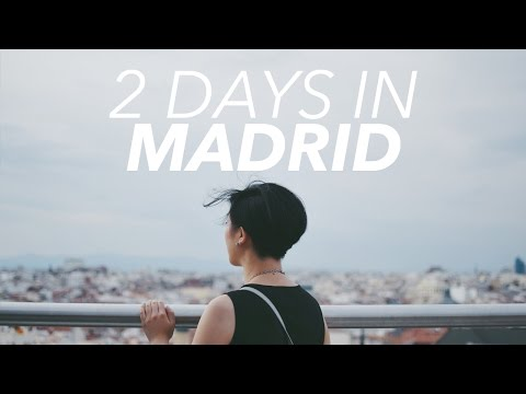 WENDY IN EUROPE EPISODE 1: Hola from Madrid