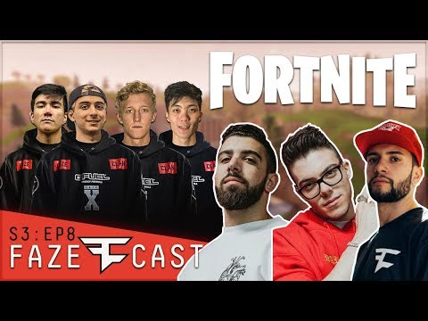 THEY'RE THE BEST FORTNITE TEAM IN THE WORLD... - #FaZeCast S3E8
