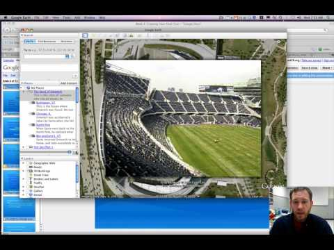 Creating a Tour in Google Earth