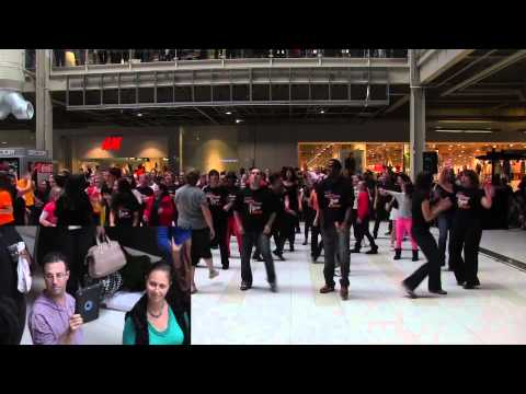 Stand Up To Cancer Flash Mob 2013