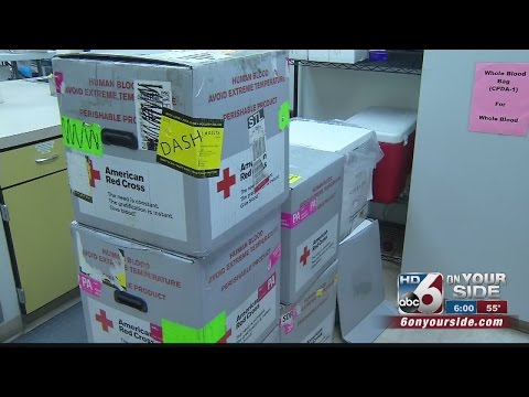 Red Cross Needs O- Blood Type Donors