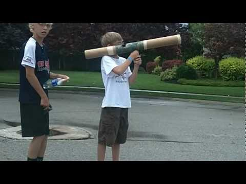 baking soda vinager rocket launcher