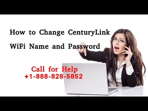 How to Change CenturyLink WiFi Name and Password