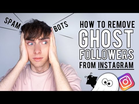 How To Remove Ghost Followers From Instagram. (Spam, BOT'S, Fake Followers)