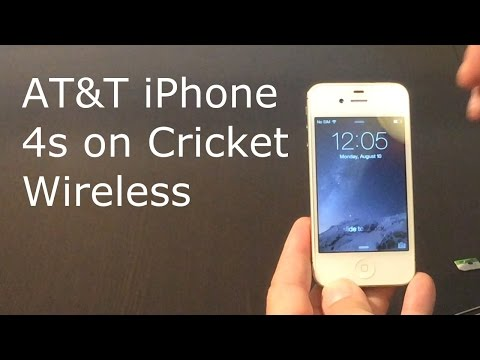AT&T iPhone 4s on Cricket Wireless - Does it work