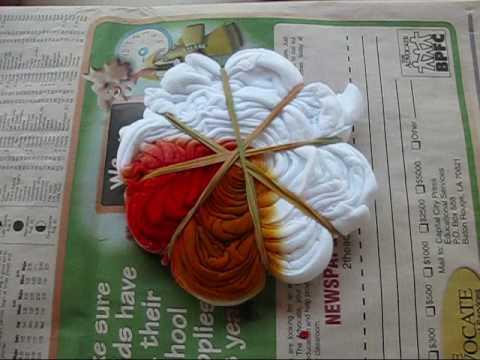 Tie Dye Part 1 spiral design