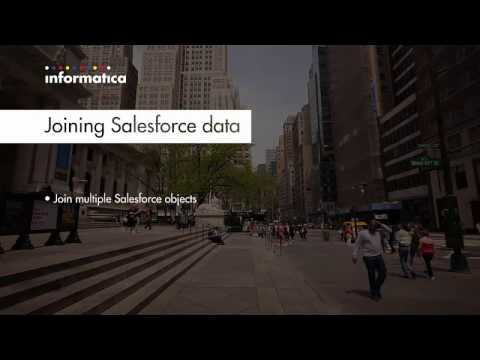 Informatica Cloud: Joining Salesforce data