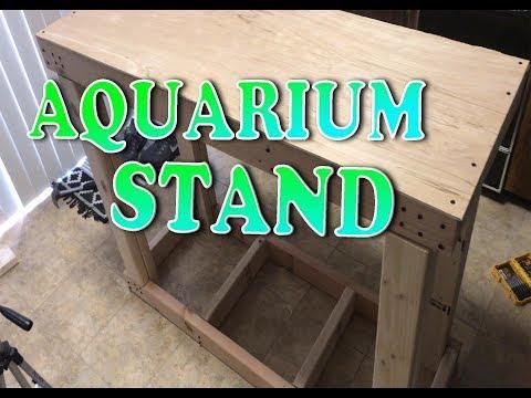 How To: DIY 75/90 Gallon Aquarium Stand