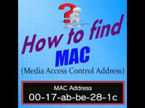 How To Find MAC Address In Windows