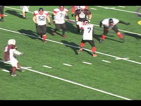 Minnesota semi pro football team highlight
